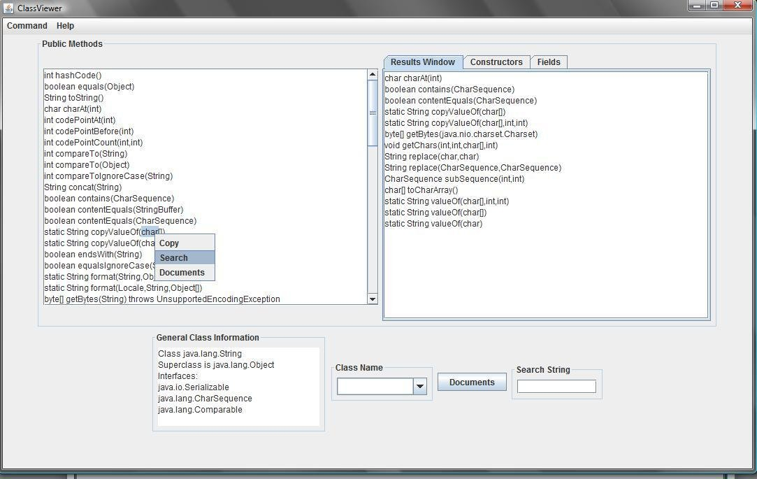 Class Viewer for Java download | SourceForge net