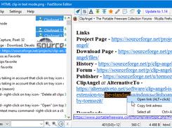 HTML clip in native mode