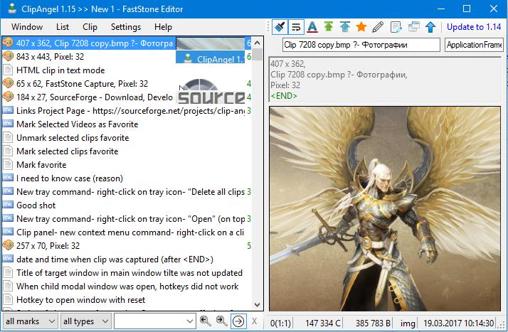 ClipAngel download   SourceForge net