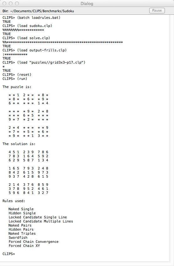 CLIPS Rule Based Programming Language download | SourceForge net