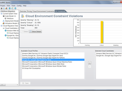 Detection of cloud environment constraint violations finished