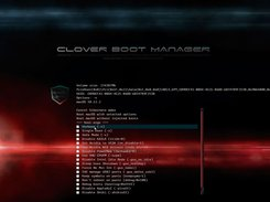 GUI OS X Boot Options (shield theme)