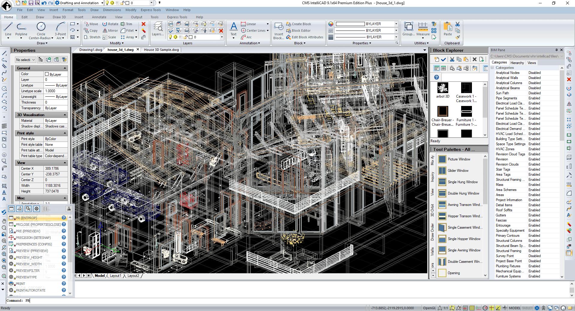 ARCHICAD vs  CMS IntelliCAD CAD Software vs  Live Home 3D