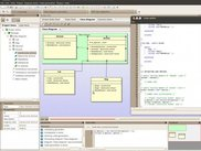 CodeDesigner in Linux (class diagram)