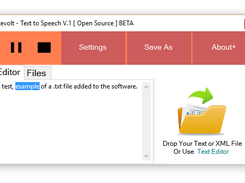 Text to Speech - Revamped Open Source download | SourceForge net