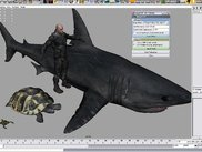 Crysis creatures in Maya.