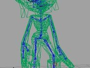 Supports skeletal animation and smooth skinning