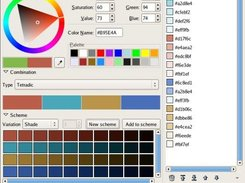 ColorCombinate dialog