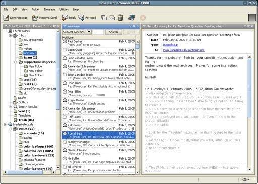 Columba download | SourceForge net