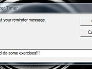 Setting your reminding message