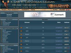X-LAN 6 - participants overview
