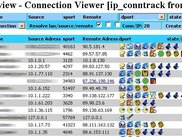 Summary view - sorted by amount of connetcions per IP