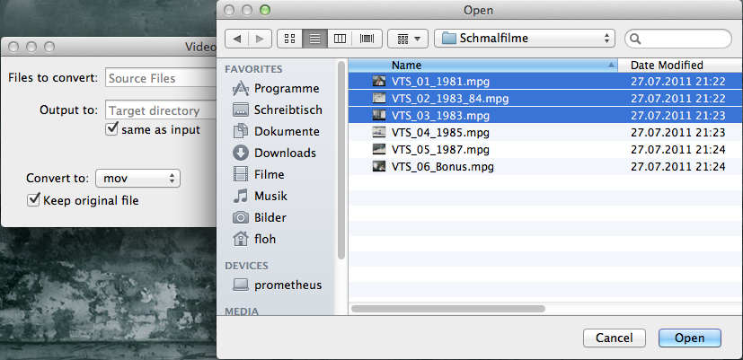 Video container switcher GPL download | SourceForge net