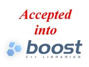3. Accepted into Boost