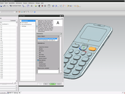 Annotation view of the Siemens NX integrated module
