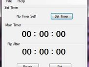 Main Window of Cooking Timer