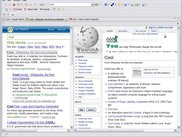 Search Results displayed in master-detail split view