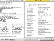 the XML, TXT and PDF output of some songs