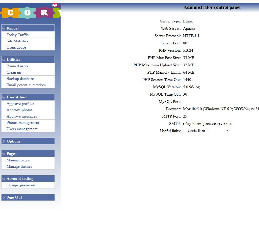 ph7 social dating cms install