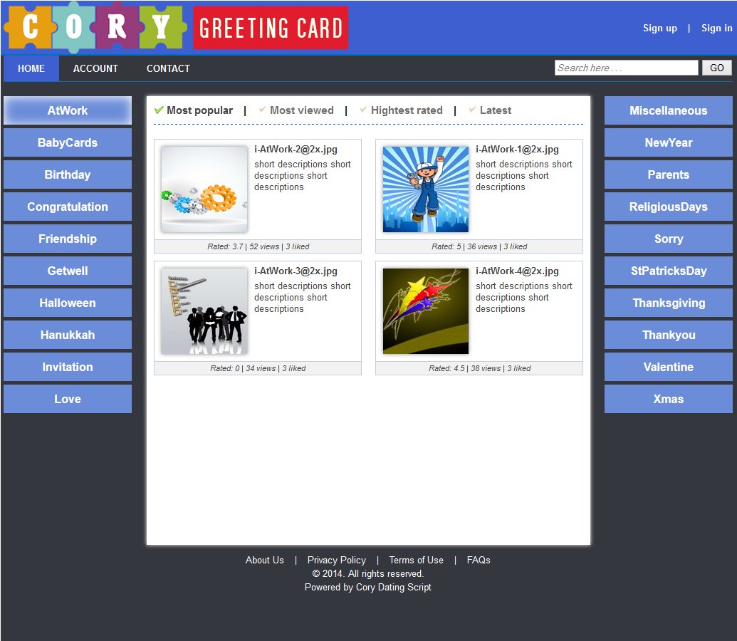 Cory greeting cards download sourceforge category page kristyandbryce Image collections