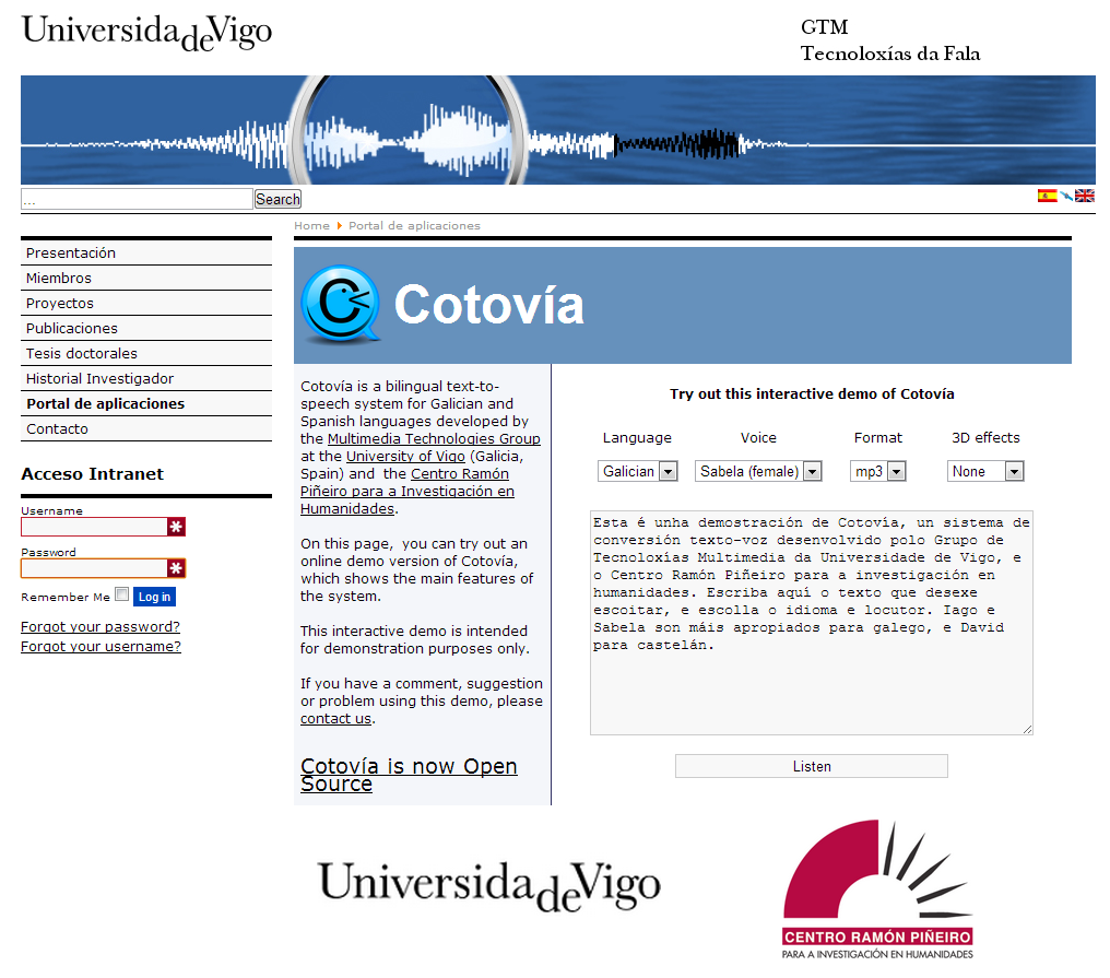 Cotovía download | SourceForge net