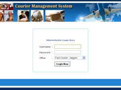 Courier Management System download | SourceForge net