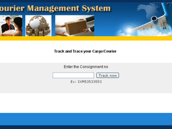 Courier Management System download | SourceForge net