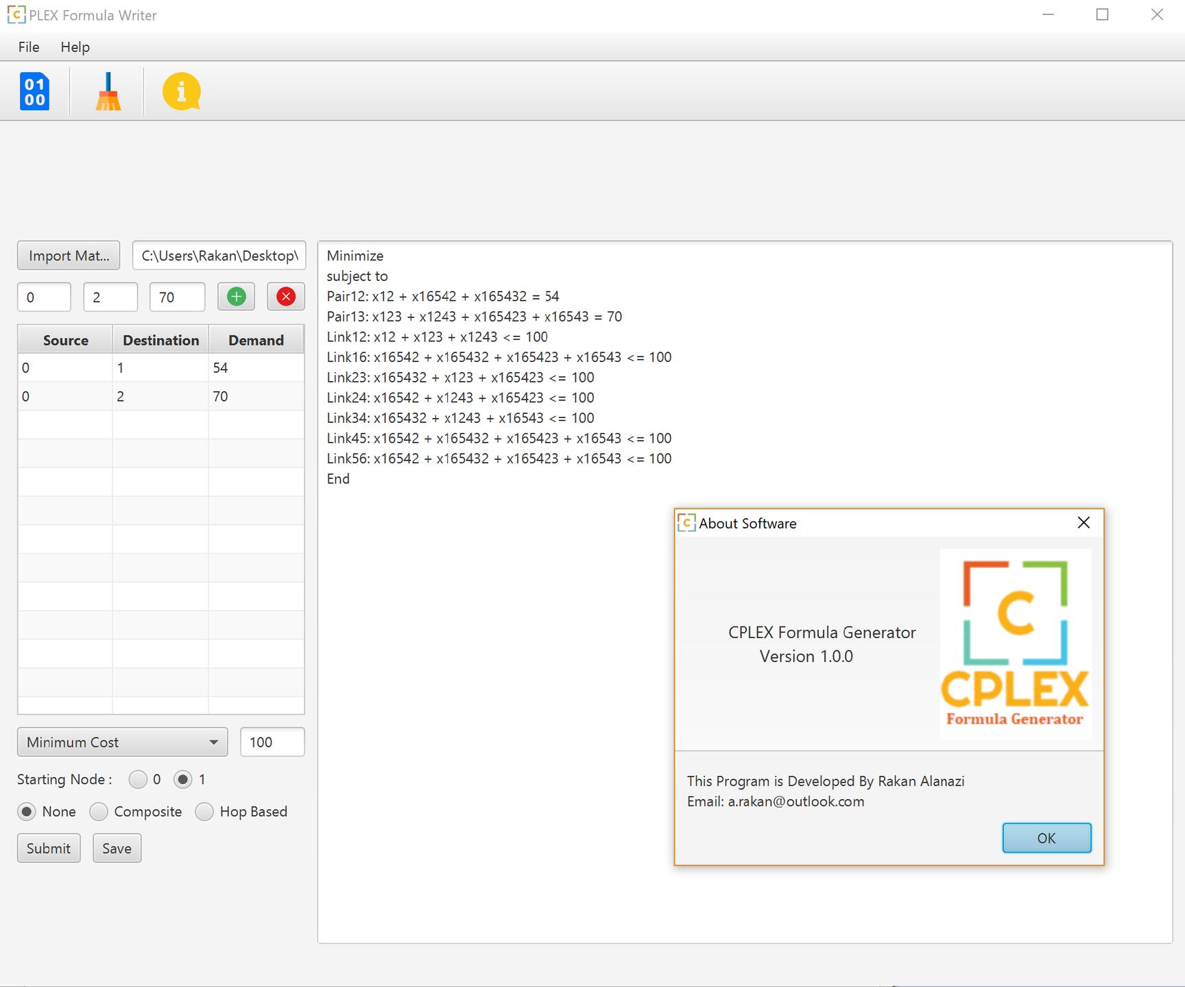 Cplex source code