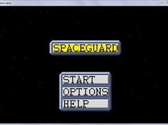 SpaceGuard menu