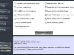 crisis aversion tool