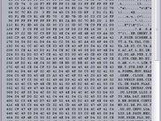 Memory as hex (and ASCII)