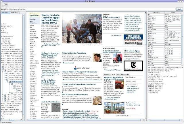 CSSBox - Java HTML rendering engine