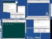 Logical Xinerama-View of multiple sessions on one desktop.