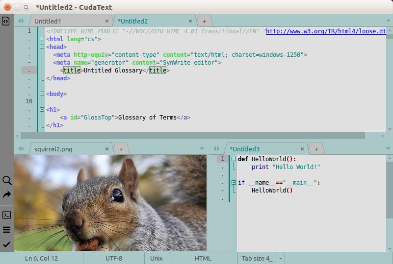 CudaText download | SourceForge net