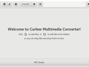 Curlew Welcome page