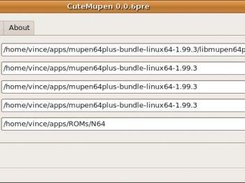 CuteMupen download   SourceForge net