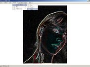 Image with Sobel Edge Detector Applied