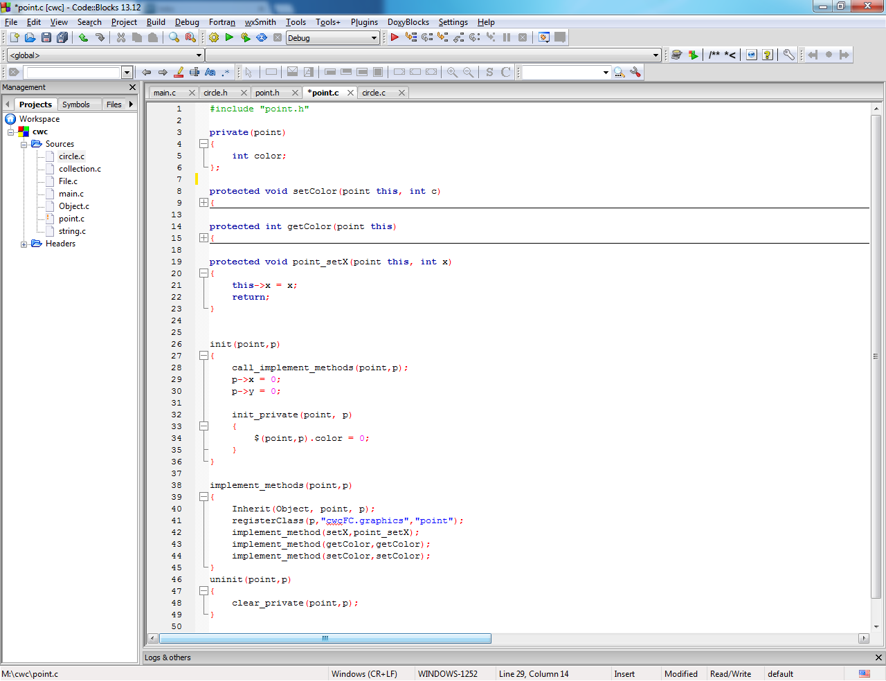 C with Classes (sanoC) download   SourceForge net