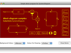 Create block diagrams in different styles and colours