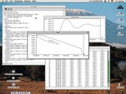 cy.prus for classical Mac OS: Time series and phase plot