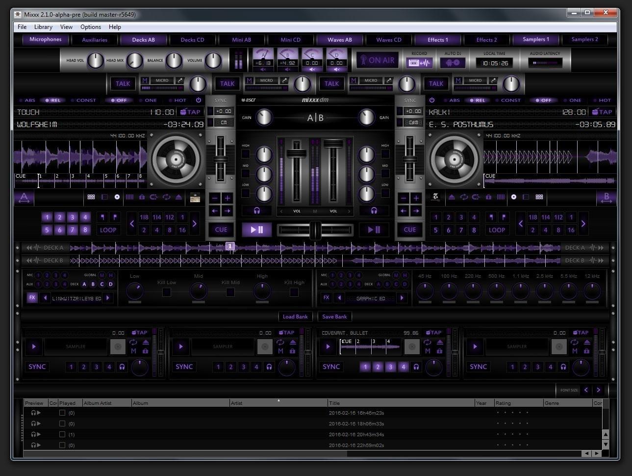 Dark Metal - Mixxx Skin download   SourceForge net