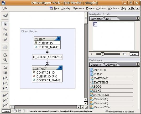 conceptual model - Sqlite Database Designer