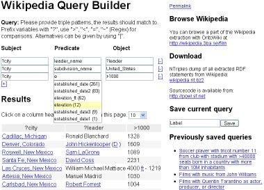 DBpedia - Wikipedia Data Extraction download | SourceForge net