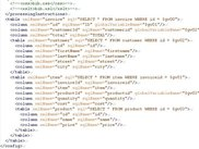 mapping (configuration) XML file - part 2