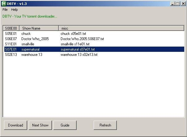 DBTV download   SourceForge net