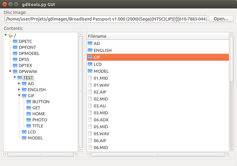 gditools download | SourceForge net