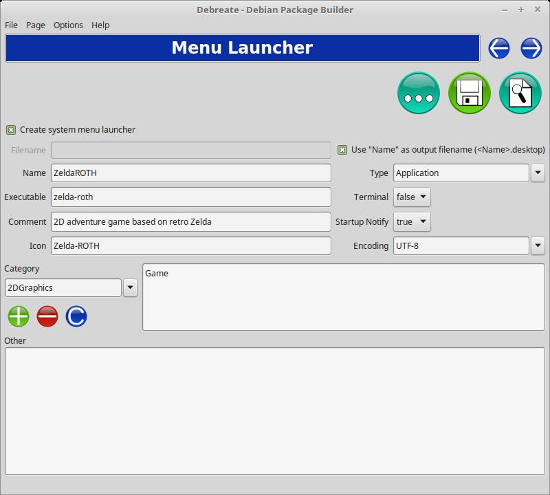 Debreate - Debian Package Builder download | SourceForge net