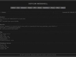 Defc0n Webshell download | SourceForge net