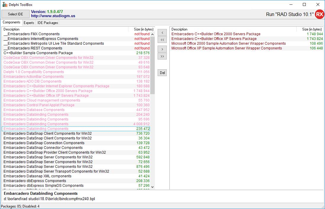 Delphi ToolBox download   SourceForge net