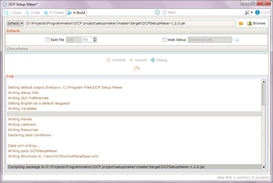 DCP Setup Maker download   SourceForge net